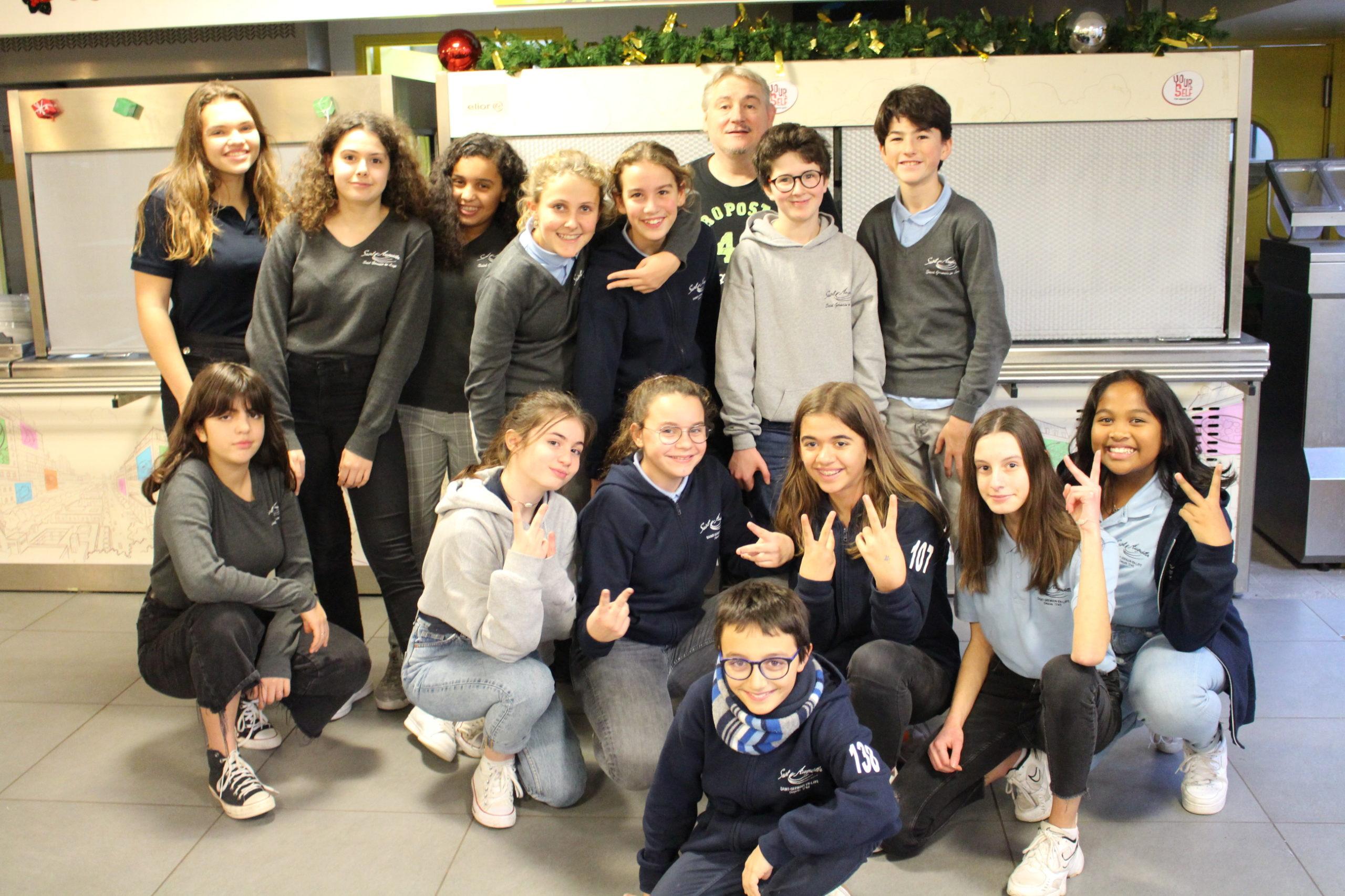 Atelier d'expression - Groupe élève Saint Augustin