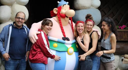 Journée des Terminales au parc Asterix