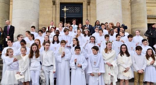 Profession de foi et première communion le 6 avril 2019