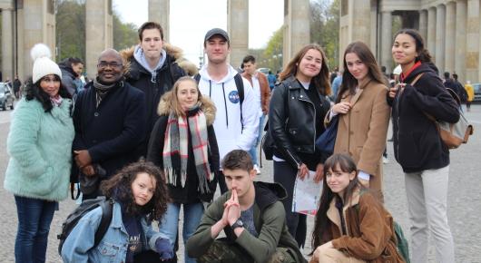 Voyage à Berlin pour les 1ères germanistes