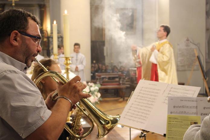 Célébration de la messe pour la rentrée 2019