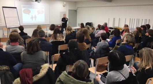 Une conférence sur l'adolescence très appréciée (mardi 21 janvier 2020)