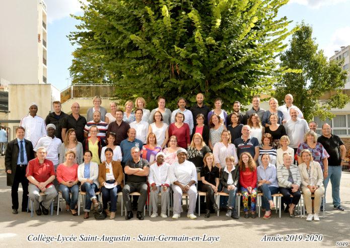 Personnels de l'Apel saint augustin
