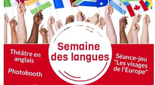 Semaine des langues du 24 au 28 Février 2020