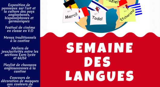 Semaine des Langues